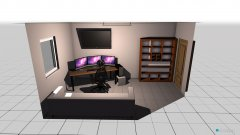 room planning gaming room v1 in the category Office