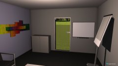 room planning Grundrissvorlage Quadrat in the category Office