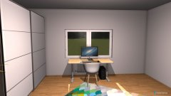 room planning Mein neues zimmer izz da  in the category Office
