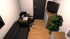 room planning Wohnung Patrick Büro in the category Office